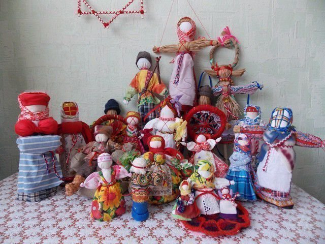 Славянские куклы-обереги делаем своими руками