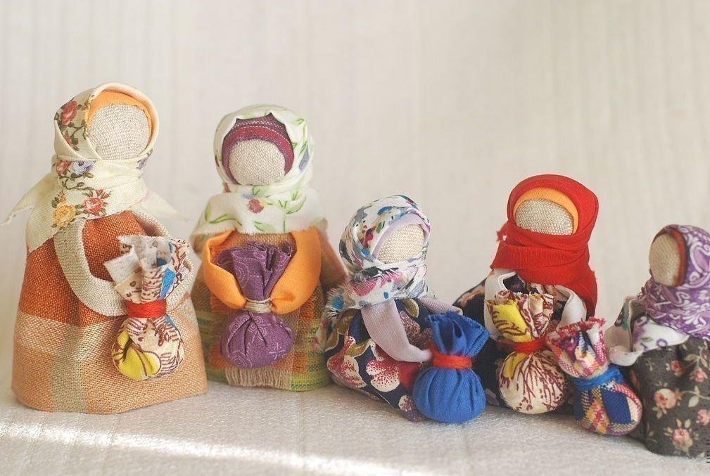 Славянские куклы обереги: своими руками