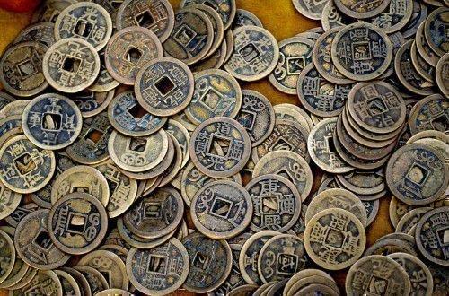 Древние китайские монеты