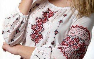 Защитные вышивки Славян