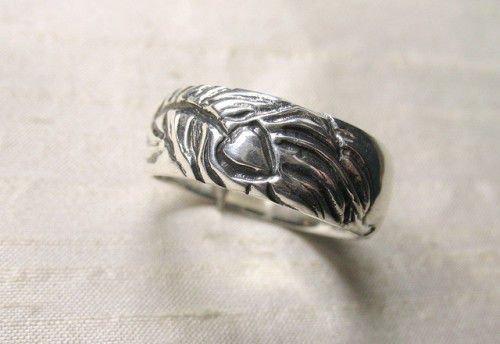 Кольца обереги из серебра
