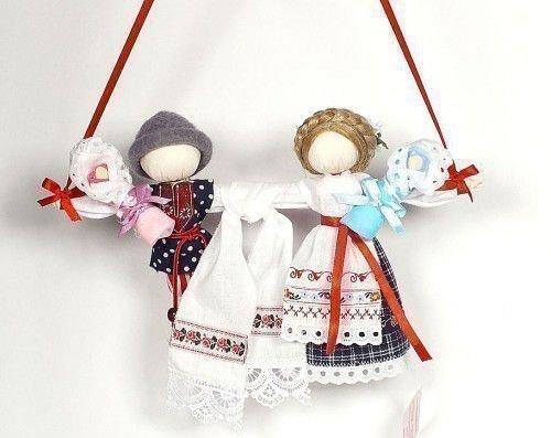 Куклы Неразлучники своими руками: свадебные народные обереги
