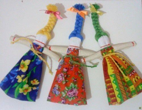 Оберег кукла - Веснянка