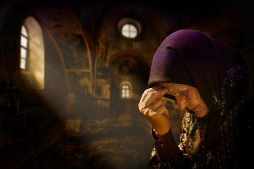 Молитва матери о сыне в тюрьме