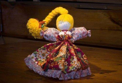 Народная кукла-Веснянка