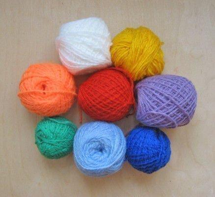 Разноцветные нити