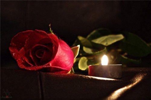 Ритуал со свечей и розами