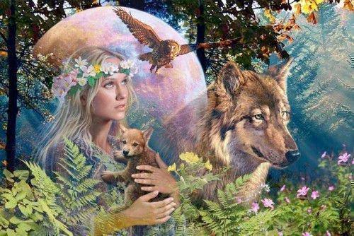 Языческая богиня Весны (Ляля)