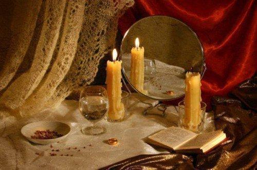 Ритуал с обручальным кольцом