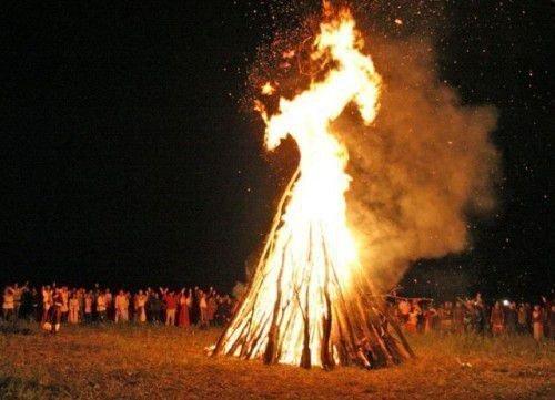 Купальский огонь
