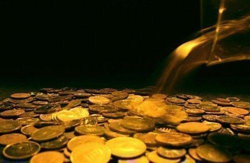 Горка монеток