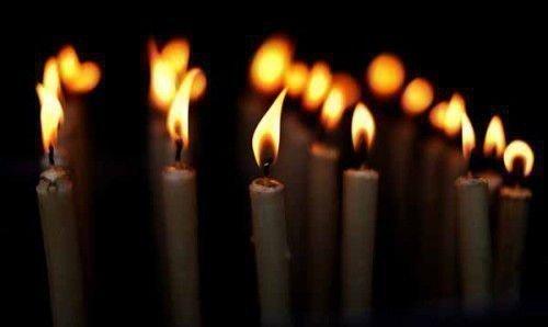 5 церковных свечей
