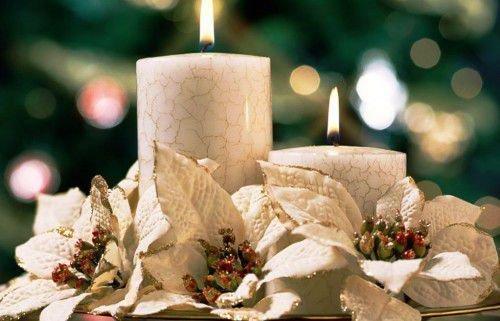Белая свеча
