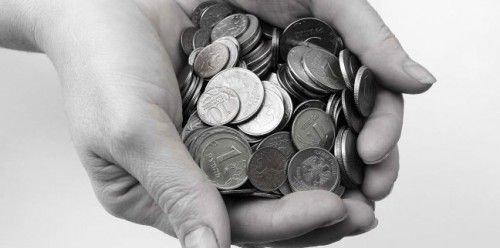 Мелкие деньги на покупку иглы