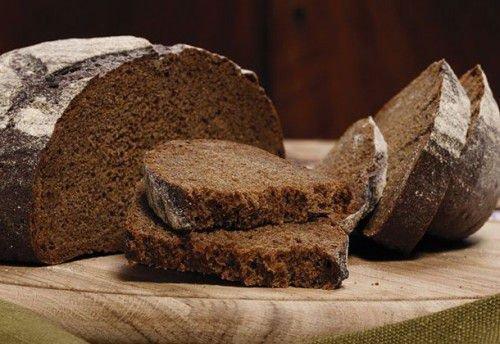 кусочек черного хлеба