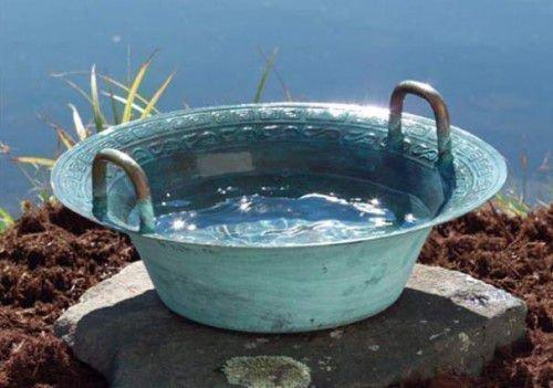 тазик с водой