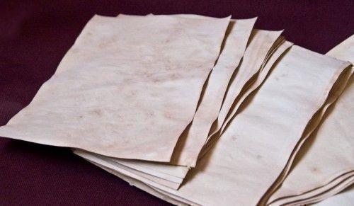 Обряд с бумагой
