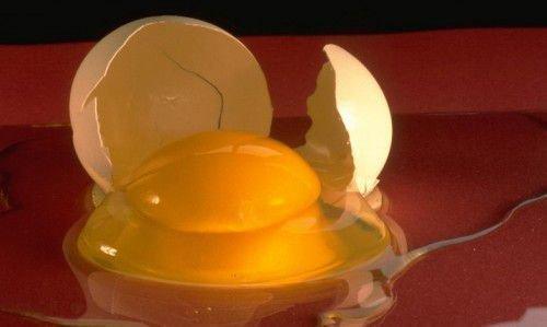 яйцо разбитое