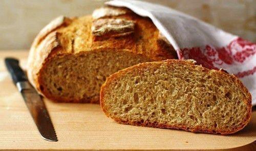 Горбушка хлеба для снятия порчи