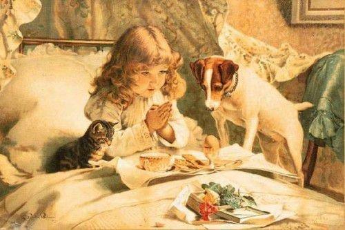 Молитва на еду - хороший способ улучшить память
