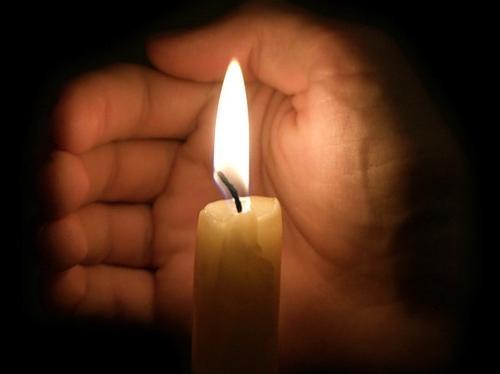 Обряд со свечой