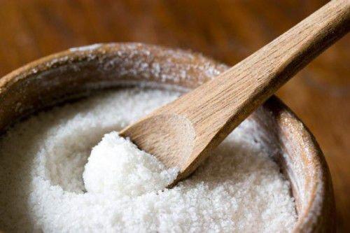Соль - самое распространенное средство