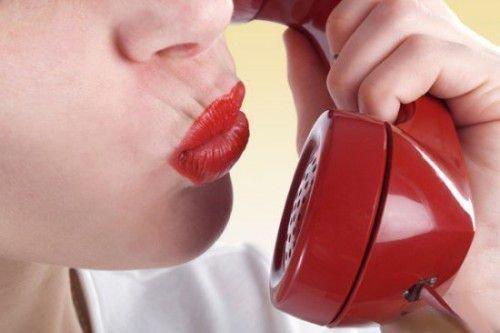 Голос по телефону