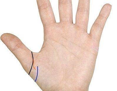 Линия проклятия и безбрачия на руке: фото, значение