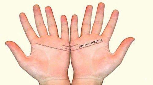 Присмотритесь к своим линиям на обеих руках