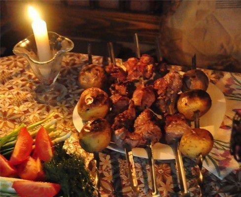 Отворот соперницы от мужа с помощью семейного ужина