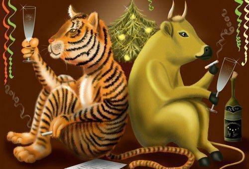 Тигр бык