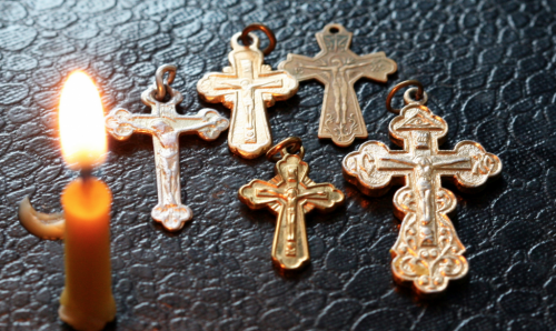 Нательный крести