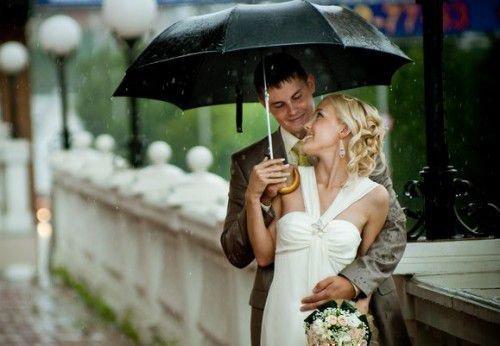 Дождь на свадьбу