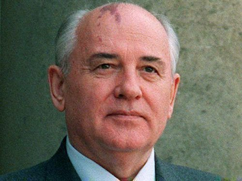 Портрет Горбачева