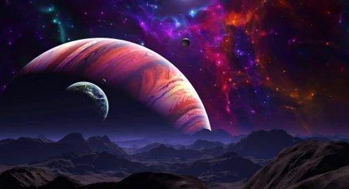 Земля из космоса - фото