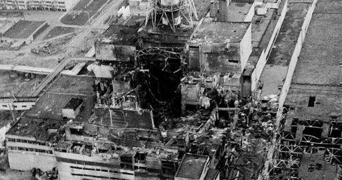 Фото катастрофы в Чернобыле