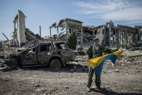 Разрушения в Украине