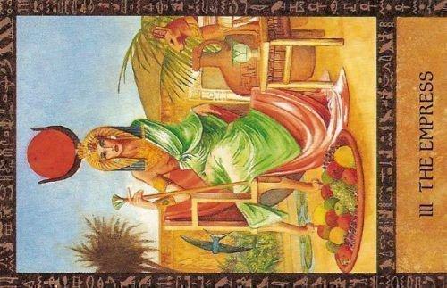 Императрица в египетском таро