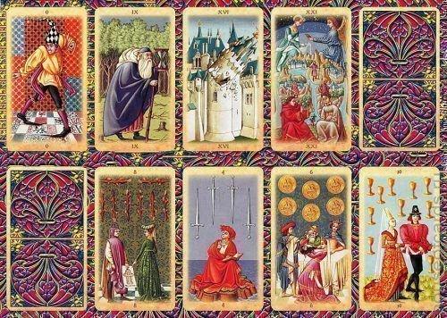 Средневековые карты таро: толкование, значение, особенности колоды