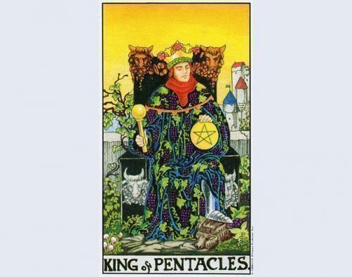 Король пентаклей Таро
