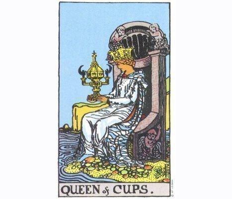 Королева кубков таро: значение в отношениях, сочетание с другими картами