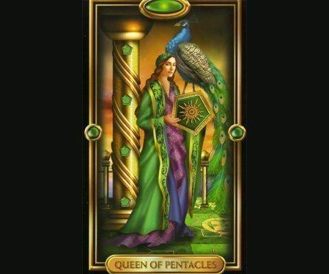 Возможные значения королевы пентаклей в таро