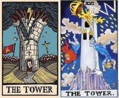 Варианты значения башни в таро