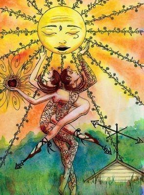 Старший Аркан Таро — Солнце: значение карты
