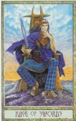 Король Мечей таро