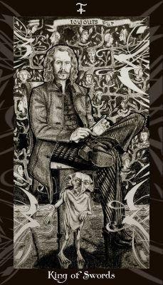 Король Мечей таро карта