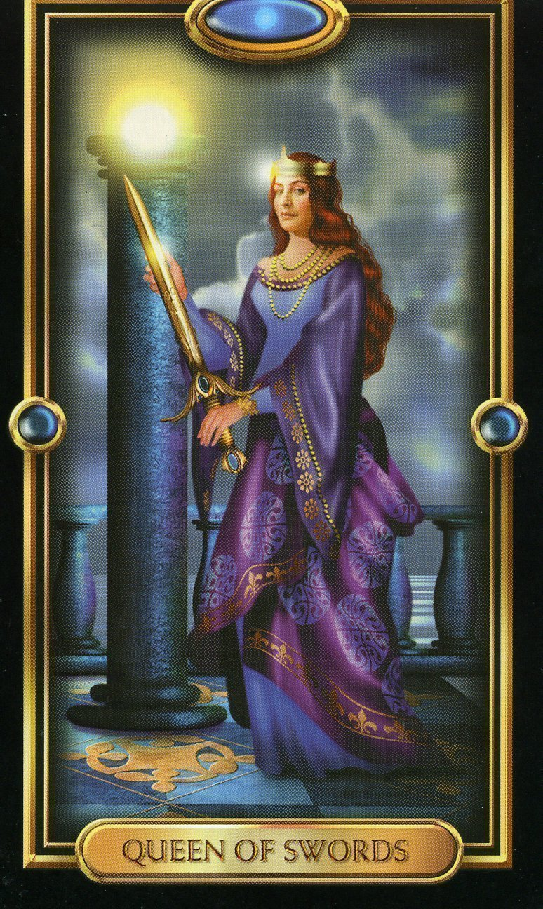 Королева Мечей карта таро