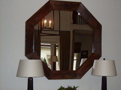 Восьмиугольное зеркало