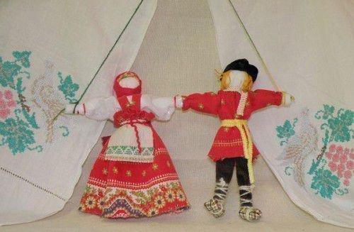 История кукол-неразлучников