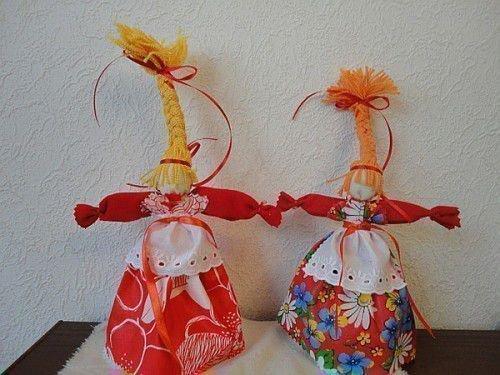 Тряпичная кукла - Веснянка